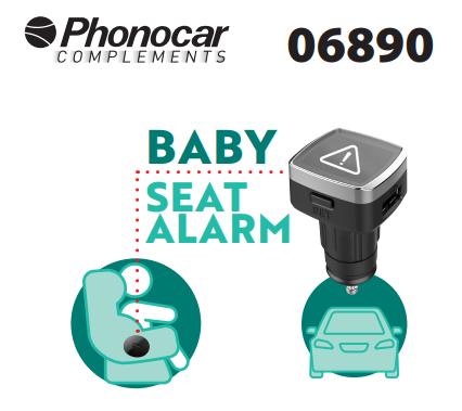 Baby Seat wireless alarm